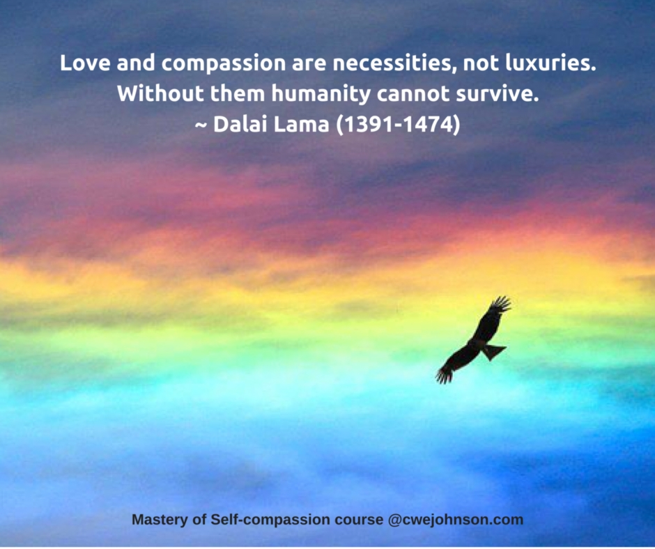 Mastery Of Self Compassion Online Course Welcome To Chris
